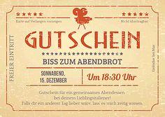 Druckvorlage 'Gutschein Kinoticket Retro' bei Wunschblatt selber gestalten und drucken