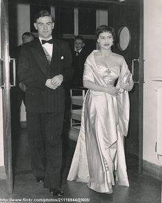 Princess Margaret at students ball