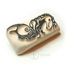 Cheval - Tatouage Temporaire #tatouagetemporaire #frenchtattoo #tatouageéphémère
