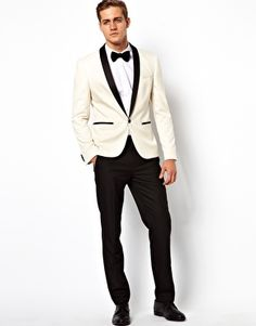 ASOS Slim Fit Tuxedo Suit Jacket So chuck bass!