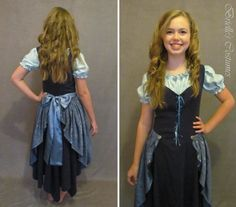 Blue Hobbit Maiden Dress size Small by briellecostumes on Etsy, $100.00