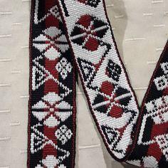 Lonja para cinturón,#pampa #tradicion #macrame #técnica tubular #tejidoaborigen Tie Clip, Accessories, Tejidos