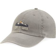 666d558f2a0 Smart Categories Life is Good Mountains Chill Cap