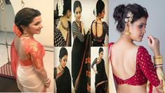 blouse design | saree blouse New Blouse Designs, Saree Blouse Designs, Indian Fashion, Bridal, Formal Dresses, Stylish, Model, Formal Gowns, Mathematical Model