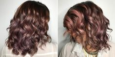 Chocolate Mauve Is Fall's Must-Have Hair Color