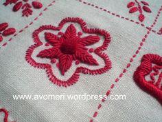 Bordado Guimaraes roseta 2/ Guimaraes Embroidery