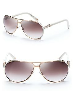 Dior Chicago Metal Aviator Sunglasses with Crystals Jewelry   Accessories -  Sunglasses - All Sunglasses - Bloomingdale s f4ff46b449