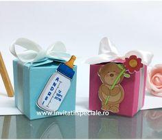 Marturie Cutiuta Cub Happy Baby - la doar 2.5 Lei