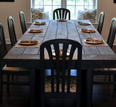 Farmhouse Table How-To
