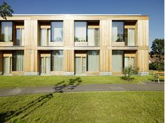 Nursing home Erika Horn, Andritz «Dietger Wissounig Architects - Architecture and Urbanism - Dorothy Barnes Architecture Plan, Residential Architecture, Bauhaus, Archdaily Mexico, Wood Facade, Hotel Room Design, Rest House, Timber Structure, Elderly Home