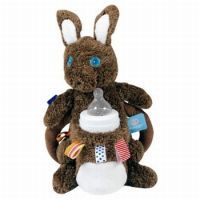 off on Snoozebaby Syd Bottle holder Big Friends, Bottle Holders, Stay Warm, Happy Easter, Teddy Bear, Christmas Ornaments, Toys, Holiday Decor, Brown