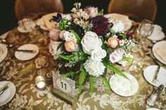 Erica + Dave – Spruce Flowers and Home