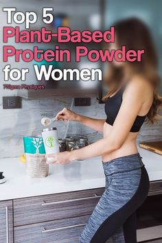 Protein is important for maintaining healthy tissues, organs, hair, nails, and muscles. Here's a list of the best plant-based protein powders for women. Top Protein Powders, Best Vegan Protein Powder, Protein Powder For Women, Organic Protein Powder, Plant Based Protein Powder, Protein Supplements For Women, Best Protein Supplement, Weight Loss For Women, Best Weight Loss