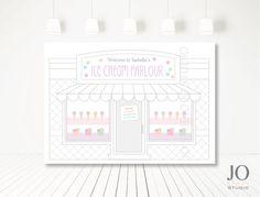 Ice Cream / Ice Cream Shoppe Themed / by JoStudioPartyPaperie
