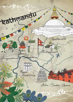 Kathmandu - Nepal - did a short presentation for the worldchicago function I attended at Demera Restaurant