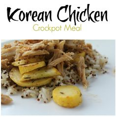 Korean Chicken - Freezer to Crockpot Meal You may remember my Korean Beef recipe, it's actually a family favorite and I usually make a double batch and sti