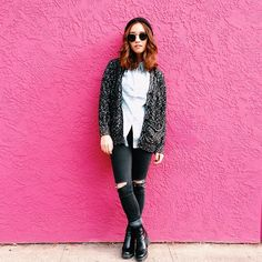 Jenn Im in Holice <3 #quayeyeware #imjennim #fashion #style #sunnies