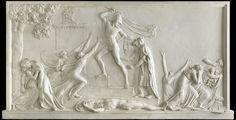 Antonio Canova, The Death of Priam (1787 - 1790) on ArtStack #antonio-canova #art