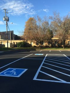 Pavement Resurfacing Sealcoating, Striping and Handicap Painting 865-680-9225 ADA Codes and Requirements for Parking Areas Knoxville, TN - Sevierville, TN - Lenoir City, TN Asphalt Repair 865-680-9225