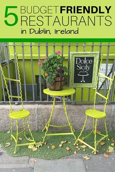 What more could you ask for beside cheap, delicious food in a friendly atmosphere? Here are 5 places in Dublin, Ireland to have just that!   Postgrad & Postcards