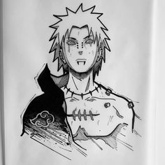 Naruto Tattoo, Manga Tattoo, Anime Tattoos, Tattoo Drawings, Naruto Sketch Drawing, Naruto Drawings, Anime Sketch, Drawing Art, Naruto Shippuden Anime