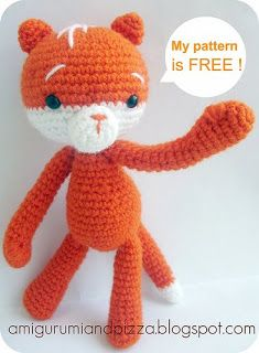 2000 Free Amigurumi Patterns: Moko the Cat