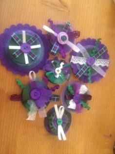 Suffragette brooches