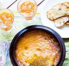 riisipuuro tinkimaitoon ja kanelipäärynät / Hannan soppa