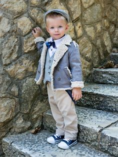 Luxury Baby Clothes, Baptism Outfit, First Communion, Shoe Collection, Baby Boy Outfits, Hipster, Cats, Jackets, Design