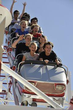 Big Coaster at Wonderland Amusement Park in Amarillo, Texas
