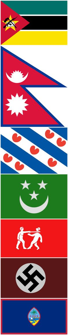 Bizarre Flags From Around the World