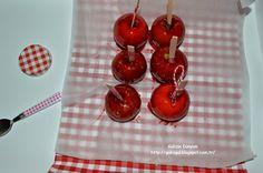 Gülizin Dünyası..: Anne Elma Şekeri... ( Ev Yapımı)