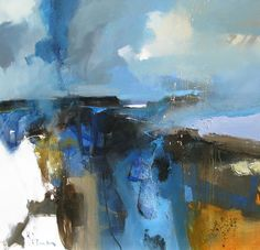 Official website of Peter Wileman PPROI RSMA FRSA, Seascape/Landscape artist. Seeking atmosphere with light and colour in varying degrees of abstraction. Landscape Artwork, Abstract Landscape Painting, Abstract Watercolor, Abstract Art, Abstract Nature, Abstract Images, Guache, Seascape Paintings, Abstract Expressionism