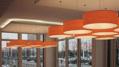 Gea one of the early lamps designed by Spanish artist Mariví Calvo for LZF