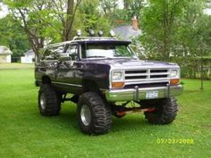 Dodge Ramcharger. Dream truck...hell yes