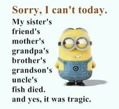 "These ""Top Minion Quotes On Life – Humor Memes & Images Twisted"" are so funny and hilarious.So scroll down and keep reading these ""Top Minion Quotes On Life – Humor Memes & Images Twisted"" for make your day more happy and more hilarious. Funny Minion Pictures, Funny Minion Memes, Minions Quotes, Minions Images, Funny Pics, Funny Images, Minion Sayings, Minions Minions, Minion Humor"