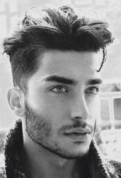 Handsome Scruffy Male Model.