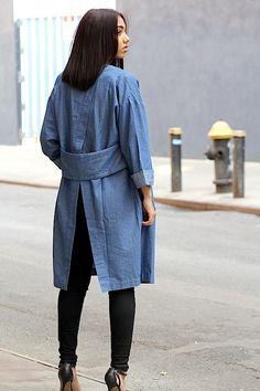 Denim Kimono Jacket                                                       …