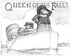 Amazon.com: Queen of the Falls (9780547315812): Chris Van Allsburg: Books