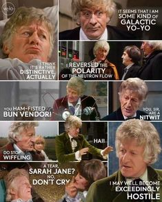 Jon Pertwee, Alex Kingston, Through Time And Space, Female Doctor, Dont Cry, Time Lords, Nerd Geek, I Feel Good, Im Happy