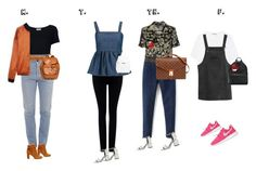 """""""My weekly outfits"""" by luisajaen on Polyvore featuring Frame, Vetements, Sole Society, Twin-Set, Opening Ceremony, Madewell, Citizens of Humanity, Isabel Marant, CO and Alexander Wang"""