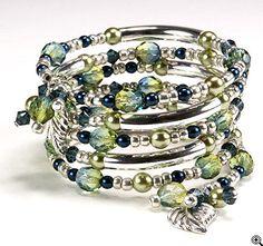 Memory wire bracelet. So cute!