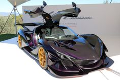 The $2.7 Million Apollo IE Hypercar: Live Gallery