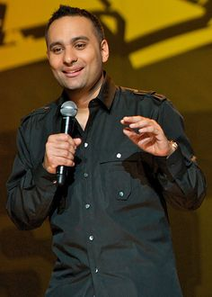 see a Russell Peters stand up show