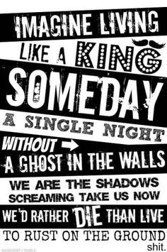 one of my favorite songs ~King For A Day~