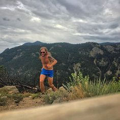 Timothy Olson Exploring new (to me) trails and ridges close to home under the coolness of clouds. Some days you just need to get out and find something new. #NeverStopExploring #TrailRunning