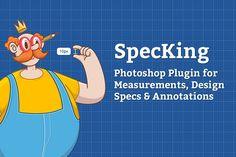 SpecKing Photoshop Plugin by wuwacorp on @creativemarket