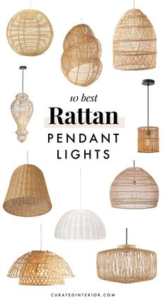 10 Best Rattan Pendant Lights for Your Beach Home or Coastal Kitchen . 10 Best Rattan P Rattan Pendant Light, Outdoor Pendant Lighting, Vintage Industrial Lighting, Industrial Light Fixtures, Industrial Pendant Lights, Kitchen Lighting Fixtures, Kitchen Pendant Lighting, Kitchen Pendants, Rattan Light Fixture
