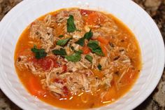 Paleo mexican chicken soup