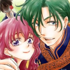 A cara do Hak!!! Kkkkkkk Look at Hak's face!!! I love them so much!!!  I love Kaori's arts!!!!! Credits: Drawing Pad, by Kaori
